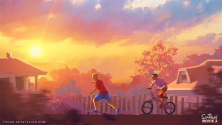 Evergreen Terrace - The Simpson Movie 2 by Tohad