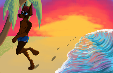 Beach Time by CursedFire
