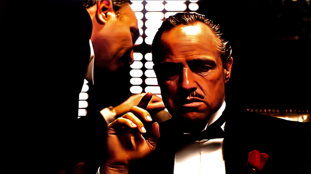 The Godfather-The Wallpaper by donvito62