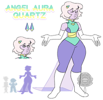 Angel Aura Quartz by watergems