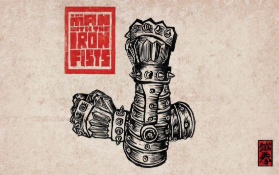 Man with the iron fists wallpaper by twilight-nexus