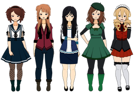(CLOSED) Trade Adopts! (KISEKAE ONLY) by HatersGonnaBeHating