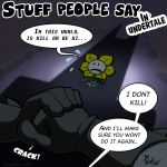 Stuff people say 150 by FlintofMother3