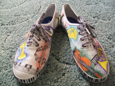 Music Shoes by MyHorseMyHeart