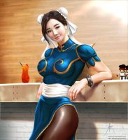 Chun-Li Fan Art 04 by arion69