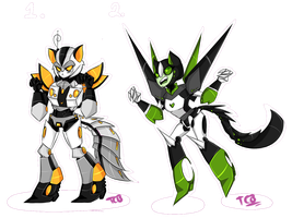 Transformers animated Adopts set 3 /closed by tailgatescutebooty