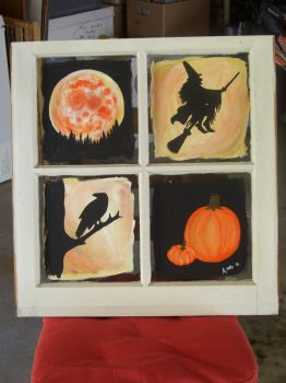 halloween windowpanes by Amichi-the-Duelist