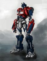 Optimus.... by Diovega