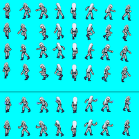 Burai Sprite Sheet by Sethyuikora