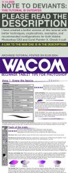 WACOM Starter Tablet Tips 2004 by fox-orian