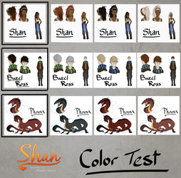 Shan: Color Test by LivingAliveCreator