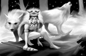 Princess Mononoke by MasonEasley