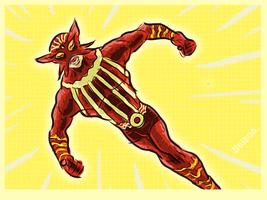 X-Man of the day: SUNFIRE! by NelsonHernandez
