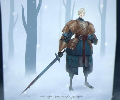 Brienne of Tarth by CorderoStorm