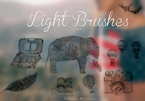Light Brushes || Clari by RadiantDay