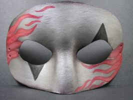 Silver Flames mask 2 by maskedzone