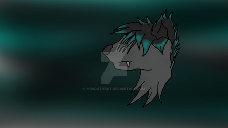 My Oc Head (WIth Background) by MrSouthBay