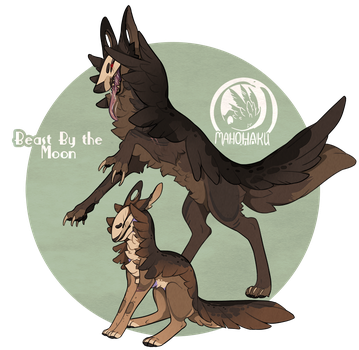 Beast by the Moon - Auction - CLOSED by MahoHaku
