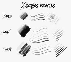 X Series Pencils by N3KRoM3KHANIKaL