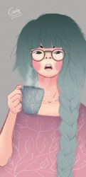 Coffee all day long by ChabeEscalant