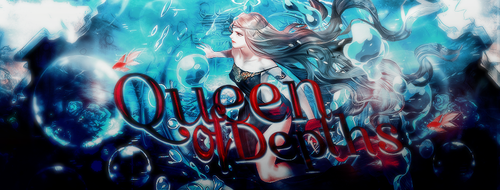 Cover l Queen of Depths by Asunaw