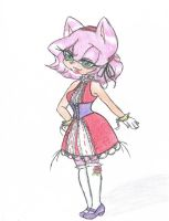 Amy rose Lolita by ShadamyHeartbeat