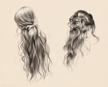 Hair Studies xo by Naimly