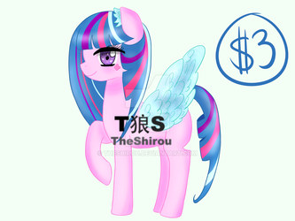 [OPEN] CHEAP PONY ADOPT #1 by TheShirou