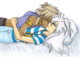 Bakura Is The Comfiest Pillow by thedarklordkeisha