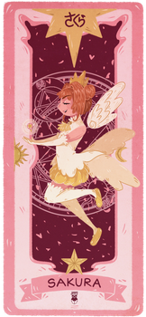 Sakura Card by Jimmy-ilustra