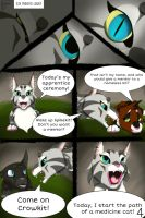 Scarred Heart pg 4 by ClaraFlos