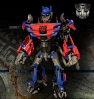 LEGO Transformers Optimus by Navello