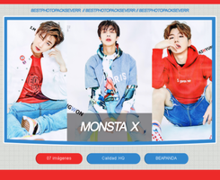 Photopack 21219 - MONSTA X. by southsidepngs