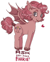 Ask bat pony pinkie by superlucky13