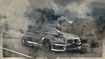 BMW m6 coupe 002 by alexartro