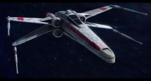 Star Wars Incom T-65A Republic X-Wing by AdamKop