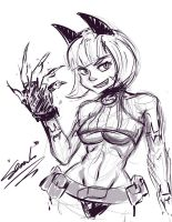 Ms. Fortune_sketch by SemLimit