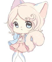 [OC] Blushing Bluebell by Cottoneeh