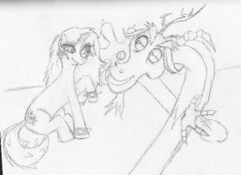 The Misfits as Ponies - Pizzazz with Discord by SmileWhenDead