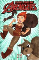 Squirrel Girl by dsoloud