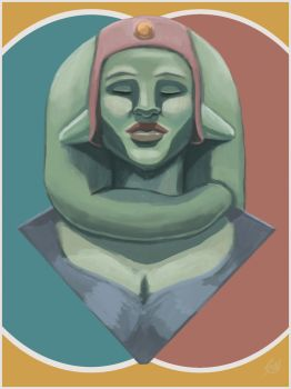 Twi'lek Passing by Swartist-Art