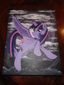 Twilight Sparkle painting by senorfro