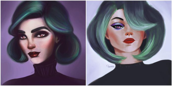 Progress || January 2017 vs August 2017 by pinkastr