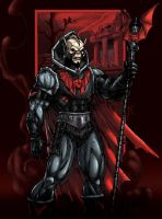 Kevin Sharp's Hordak coloured by oICEMANo