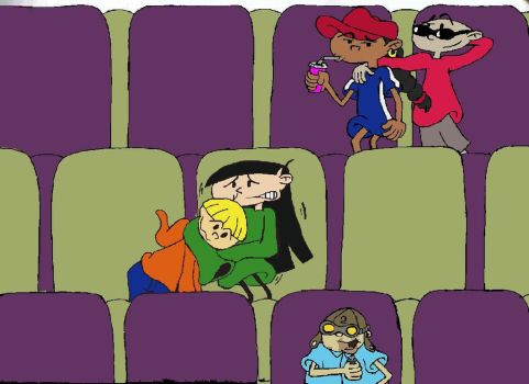 KND MOVIES TIME by abby-sanban