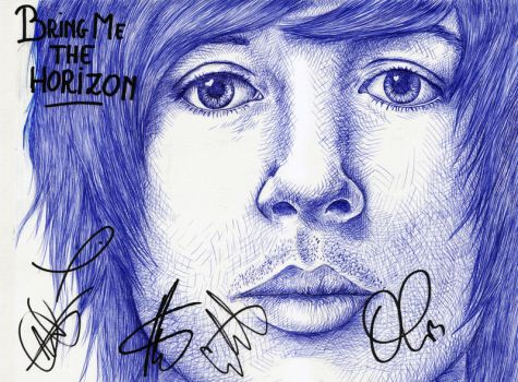 BMTH signed version by 2BrightEyes