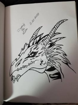 dragon  by ZomBeautiful1014