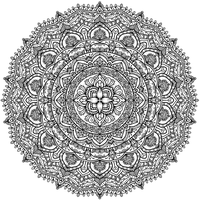 Krita Circles Mandala 9 by WelshPixie