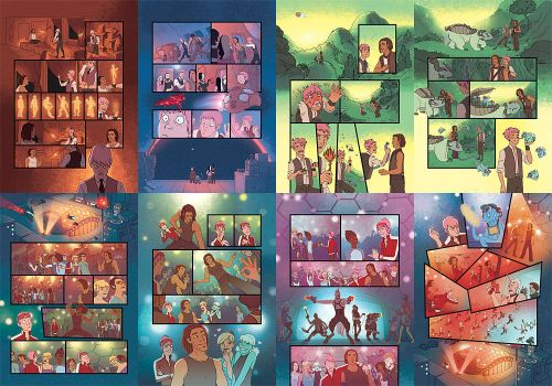 ACP mini comic pages by eve-bolt