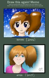 Draw This Again - Side Ponytail's are Cool! by BethanyAngelstar
